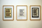 Série: Vizuálni poezie I., II., III. / Series: Visual Poetry I., II., III.